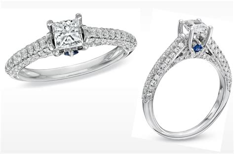 vera wang engagement ring princess cut with