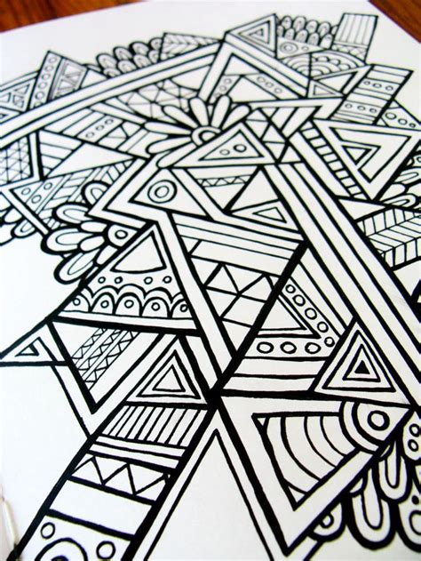 geometric doodle ideas 17 best ideas about triangles on geometric