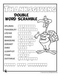 thanksgiving crossword puzzles printable 1000 ideas about thanksgiving worksheets on pinterest