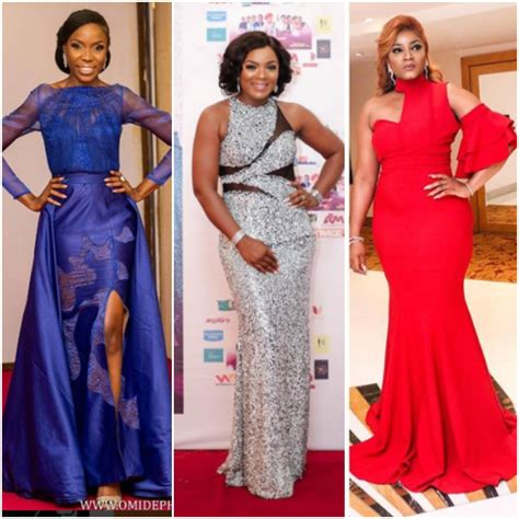 nigerian celebrity style 15 celebrities whose red carpet styles were top notch in