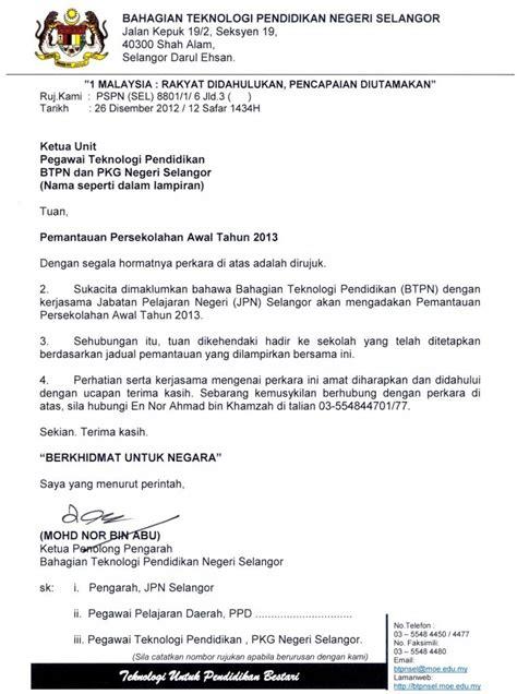 surat rasmi satu penulisan yang mudah dan menarik
