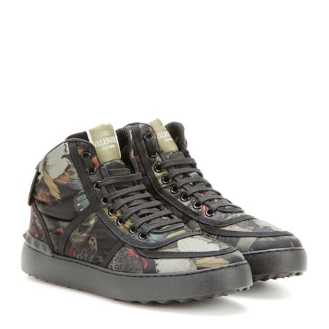 10 Best Valentino Shoes by Valentino Camubutterfly High Top Sneakers In Black Lyst