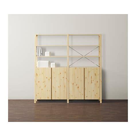 ikea ivar cabinet ivar 2 sections shelves cabinet pine 174x30x179 cm ikea