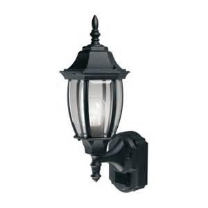 outdoor motion sensor coach lights heath zenith 174 6 sided aluminum motion sensor coach lantern