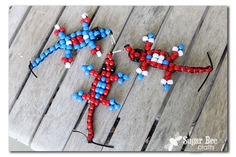 cub scout pony bead crafts for adults