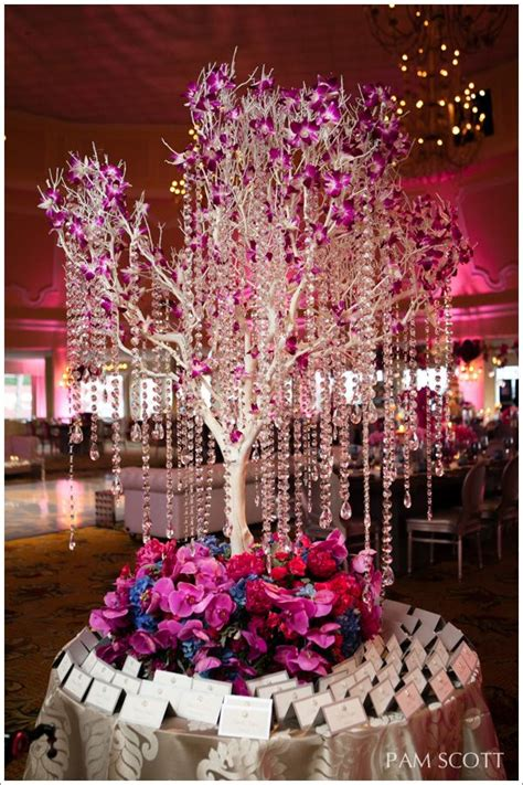 hotel coronado wedding fuchsia orchid wedding