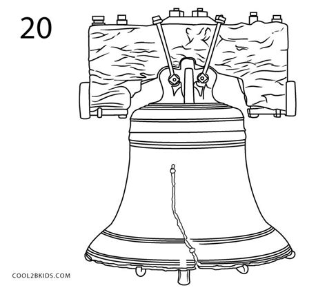 how to bell a how to draw the liberty bell step by step pictures cool2bkids