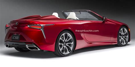lexus might make a convertible lc but no f model before