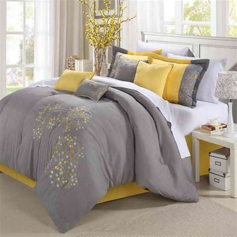 yellow and gray bedrooms our gray and yellow bedroom brown hairs