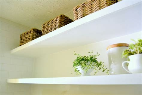 ruth how to create thin floating shelves