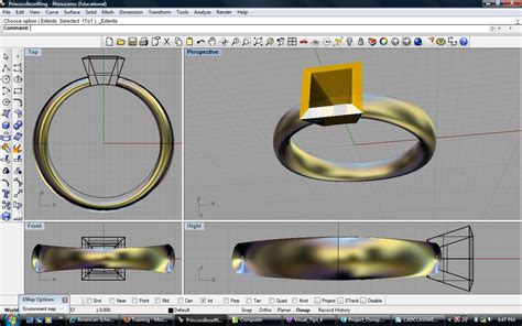 Drawing O Ring Solidworks by Is Cad The Future Of Jewellery Design