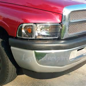 2000 Dodge Ram 1500 Headlights 1994 2001 Dodge Ram 1500 2500 3500 Black Headlights Corner