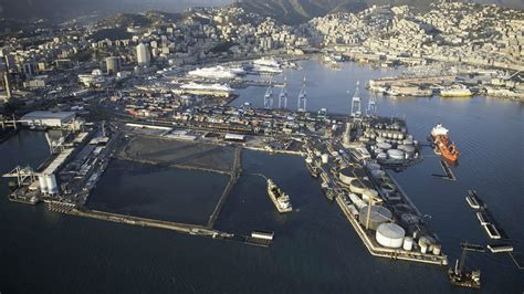 genoa italy port genoa s grand plans are dredging success story