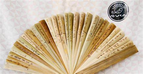 Cd Tutorial Menjelajah camane craft kipas daun lontar isi puisi bugis aksara lontara