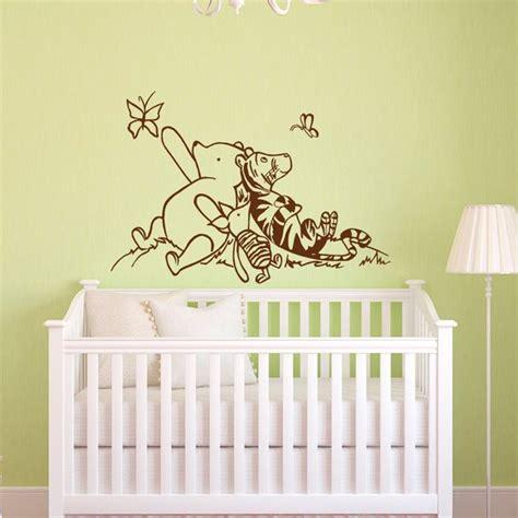 winnie the pooh wall decals nursery classic winnie the pooh
