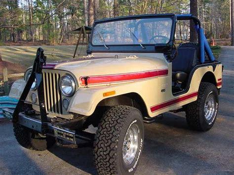1974 Jeep Cj5 Carlejoyce 1974 Jeep Cj5 Specs Photos Modification Info