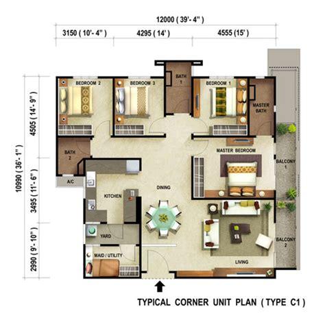 carissa park floor plan reflections condominium penang property talk