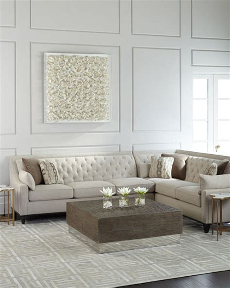 linen section linzie linen sectional sofa