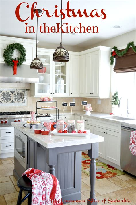 Christmas Decoration Ideas For Kitchen by Christmas Decorating In The Kitchen