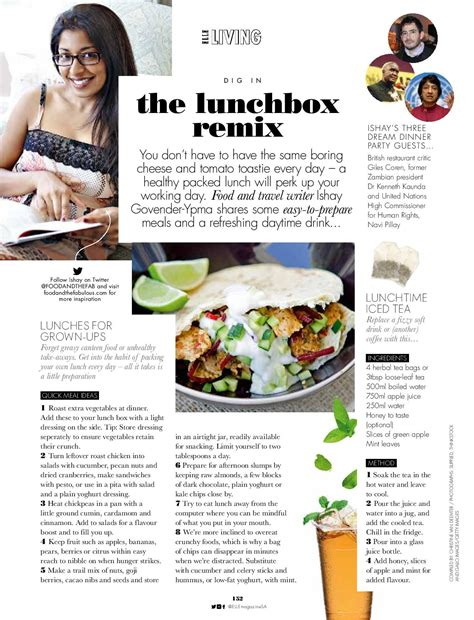 article cuisine lunch box treats for sa food and the fabulous