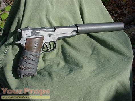 hush puppy pistol s w m39 with silencer hush puppy replica tv series prop