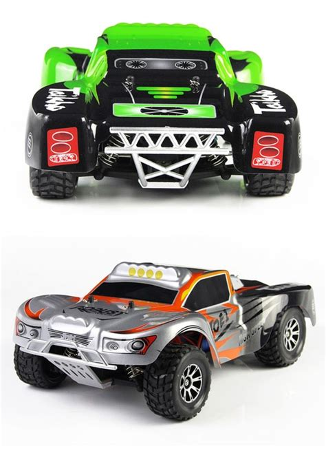 Remote Cars 920 3 wltoys scale high speed electric remote car course stunt rc truck green rc