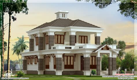 Nice Home Plans | 4 bedroom nice villa elevation kerala home design and