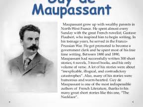 The Jewelry De Maupassant Essay by Essay On The Necklace By Demaupassant