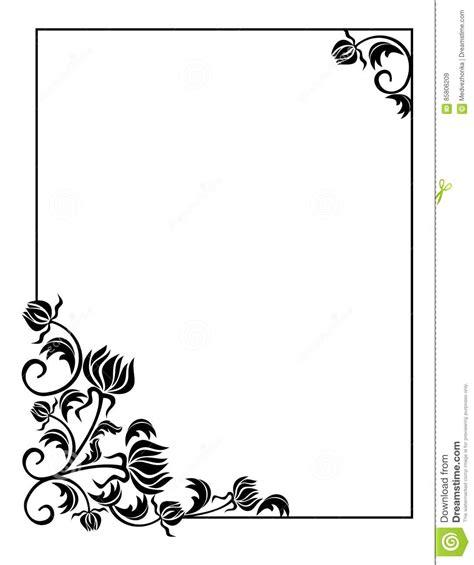 Cadre Photo Noir Et Blanc by Fleurs Stylis 233 Es Noir Et Blanc