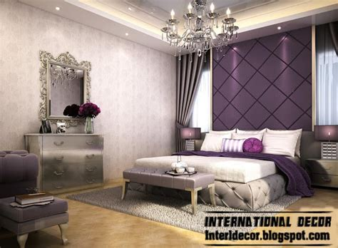 purple bedroom walls contemporary bedroom designs ideas with false ceiling and