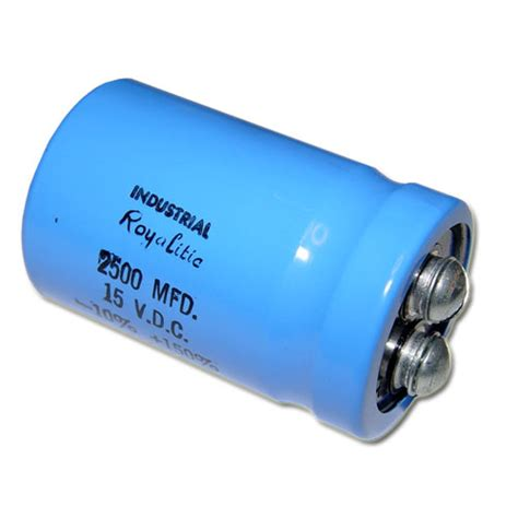 industrial capacitor 302722 1b1791 industrial capacitor 2 500uf 15v aluminum electrolytic large can computer grade
