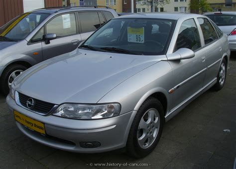 opel vectra b opel 1999 vectra b 18 16v 4door hatchback the history of