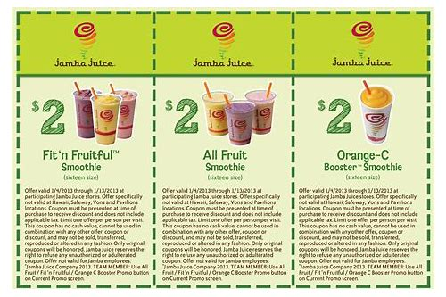 coupons jamba juice