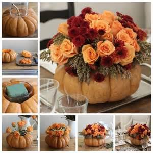 Cornucopia Vase Diy Pumpkin Vase Thanksgiving Centerpiece Pictures Photos