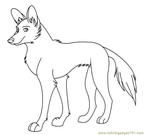 wild dog coloring page african wild dog coloring page free wild animals