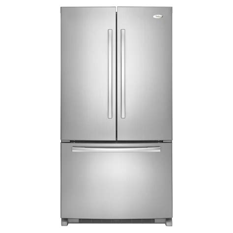 door refrigerator bottom freezer whirlpool wrf560smyw 19 7 cu ft door bottom