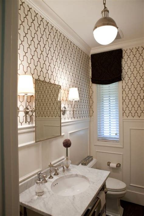 wallpaper ideas for small bathroom best 25 small bathroom wallpaper ideas on