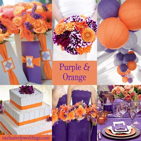 orange color theme 317 best images about purple wedding ideas and inspiration