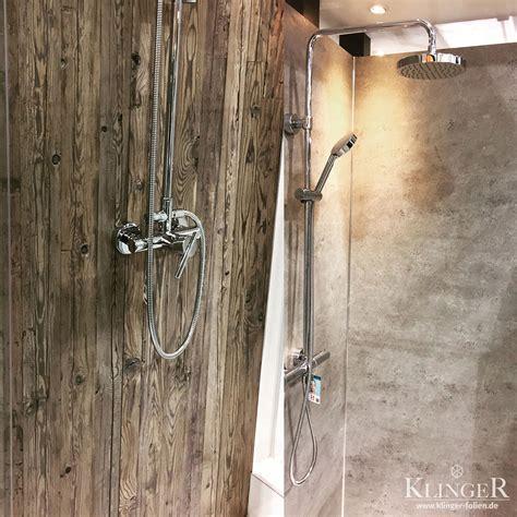 Kleber Folie Stein by Design Duschr 252 Ckwand Mit Klebefolie