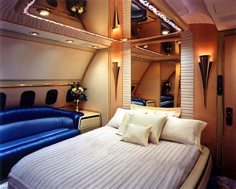 jet with bedroom bedroom of sultan of brunei airplane luxuryy