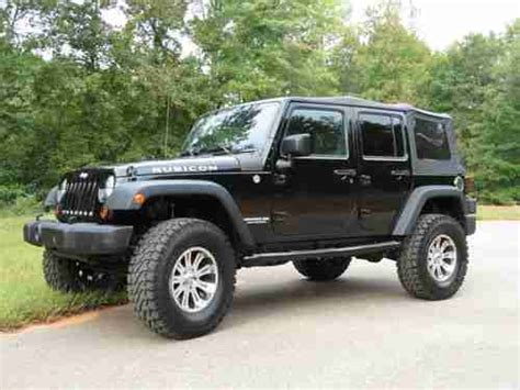 Jeep Rubicon 4 Door Soft Top Buy Used 2010 Jeep Rubicon 4x4 Unlimited 4 Door Soft Top