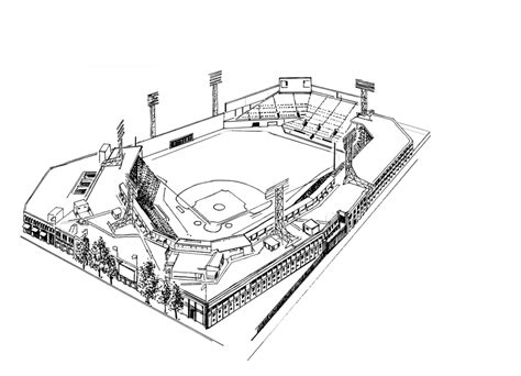 coloring pages football stadium get this baseball field coloring pages to print 84628