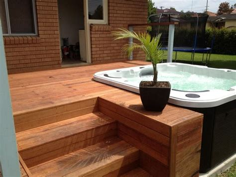 Bathtub Deck Ideas by Best 25 Tub Deck Ideas On Tub Patio