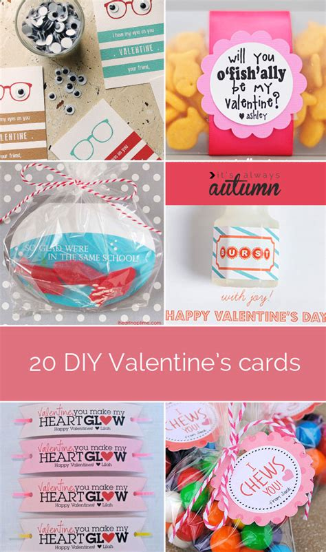 diy valentine s gifts for friends 20 fantastic diy valentine s day cards it s always autumn