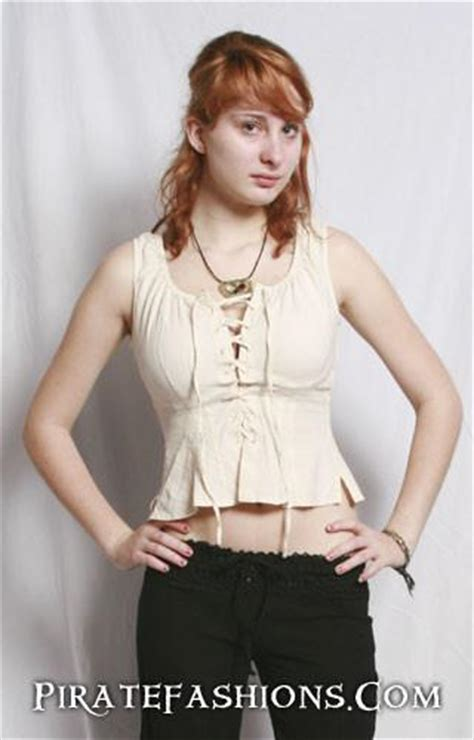 0358 Blouse Xl pearl blouse pirate fashions