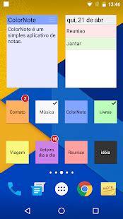 color note backup colornote bloco de notas lista apps para android no