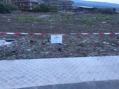 comune di giarre ufficio tecnico giarre carabinieri sequestrano terreno comunale e