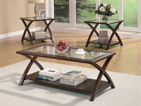 dreamfurniture 701527 coffee table and end tables set
