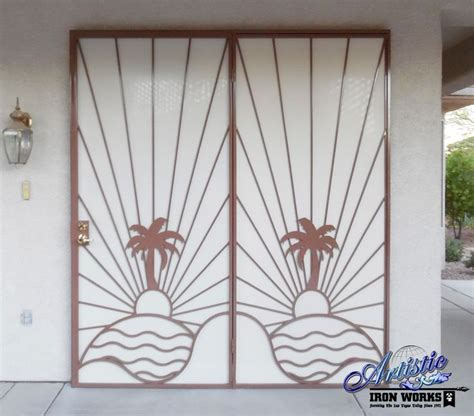 Iron Patio Doors 17 Best Images About Wrought Iron Security Doors On Kick Plate Models And Home