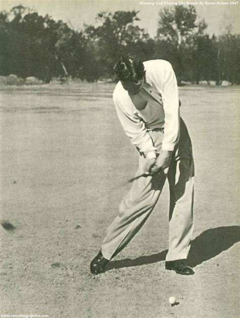 byron nelson swing cure a golf slice golf instruction the word swing